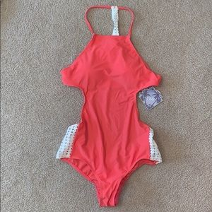 YMI Coral One Piece Swimsuit, Never Worn